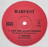 SALE ITEM - Mike Brooks - Love & Broad Highway (Harvest / Pressure Sounds) UK 10""